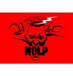 need help icon vector image