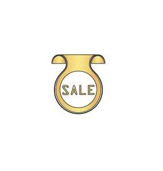 Sale computer symbol vector