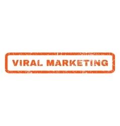 Viral marketing rubber stamp vector