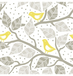 Pastel bird print patterns vector
