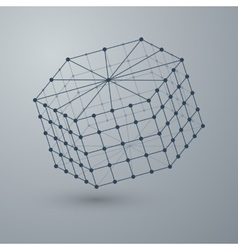 A polygonal shape vector