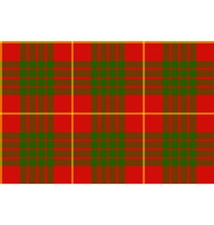 Clan cameron tartan seamless background vector