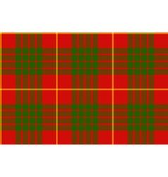 Clan cameron tartan seamless background vector