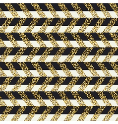 Golden chevron seamless pattern vector