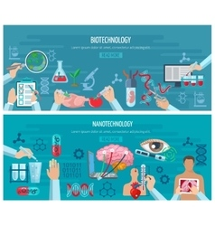 Horizontal biotechnology and nanotechnology vector