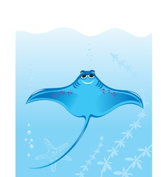 stingray vector image