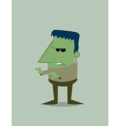 Cartoon frankenstein vector