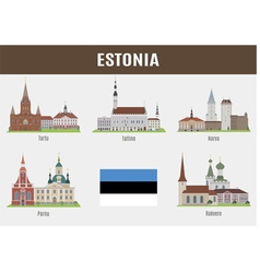 Estonia vector