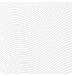 Abstract grey white curved lines and waves vector