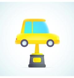 best car vector image vector image