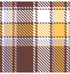 seamless checkered vector pattern vector image