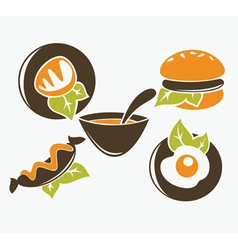 common food vector image