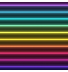 Abstract colorful glow straight lines vector