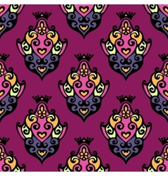 Damask Royal Seamless vector image vector image