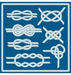 Sailor knot set vector