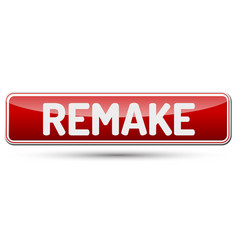 Remake - abstract beautiful button with text vector