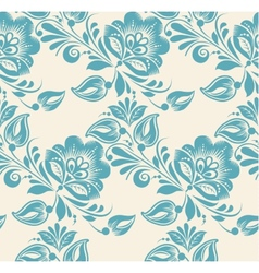 Abstract elegance seamless pattern with floral vector