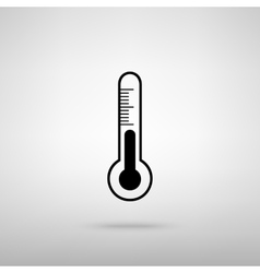 Thermometer sign vector