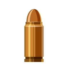 Bullet icon in cartoon style vector