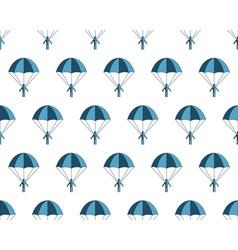 Parachuter pattern vector