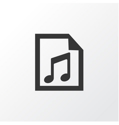 playlist icon symbol premium quality isolated vector image
