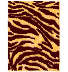 Seamless tiger fur pattern vector
