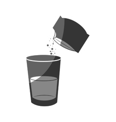 Water glass instruction for use vector