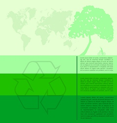 Infographics green modern city living concept vector