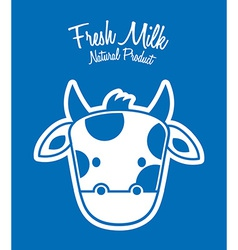 Milk fresh vector