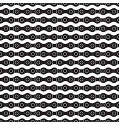 bike black chain seamless background vector image