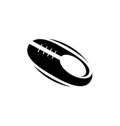 american football emblem image vector image
