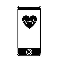 smartphone medical app vector image
