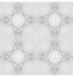 guilloche background vector image