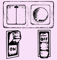 Light switch vector