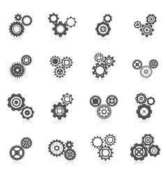 Cog Wheel Icon vector image vector image