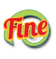 Fine comic word vector