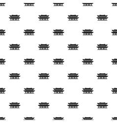 Gyeongbokgung palace korea pattern simple style vector