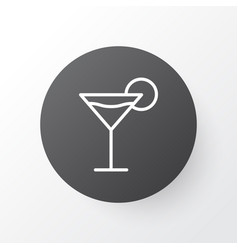 Martini icon symbol premium quality isolated vector
