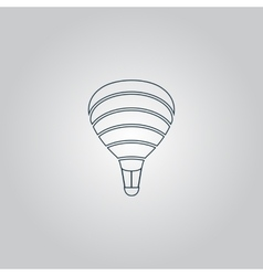 Sky balloon vector image vector image