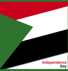 Sudan independence day vector