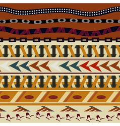 Tribal seamless texture in the african style vector