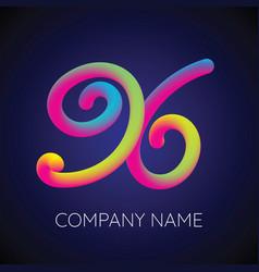X letter logo icon blending color vector