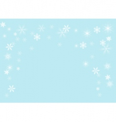 Snowflakes illustration vector