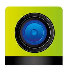 Lents professional camera focus vector