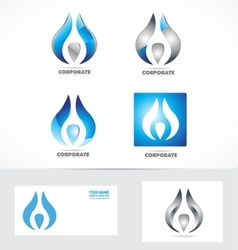 Corporate business logo icon symbol vector