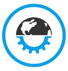 International Industry Icon vector image