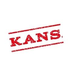 Kansas watermark stamp vector