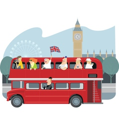 London sightseeing vector