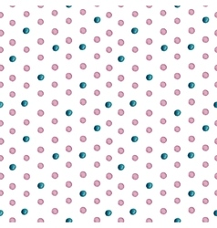 Seamless watercolor drops pattern vector