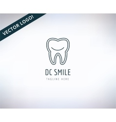 Tooth Icon Icon Health Medical or Doctor vector image